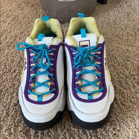 Fila Shoes | Colorful | Poshmark